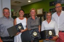 Clubmeister Damen: Ebner Eva-Maria, Schmid Daniela, Ardelean Laura